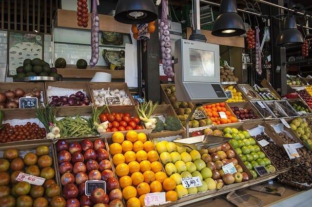 שוק אוכל מדריד