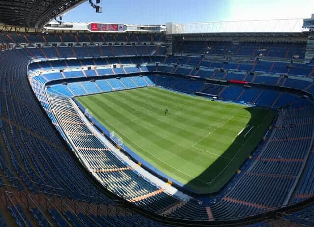 אצטדיון כדורגל במדריד