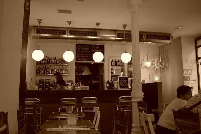 מסעדה במדריד